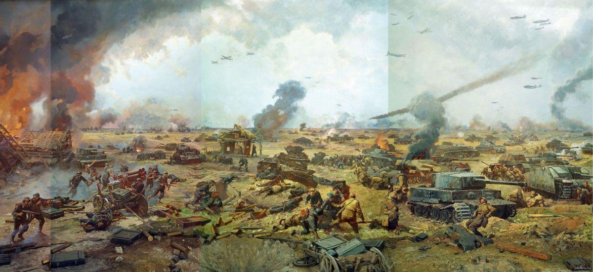 День победы советских войск в Курской битве