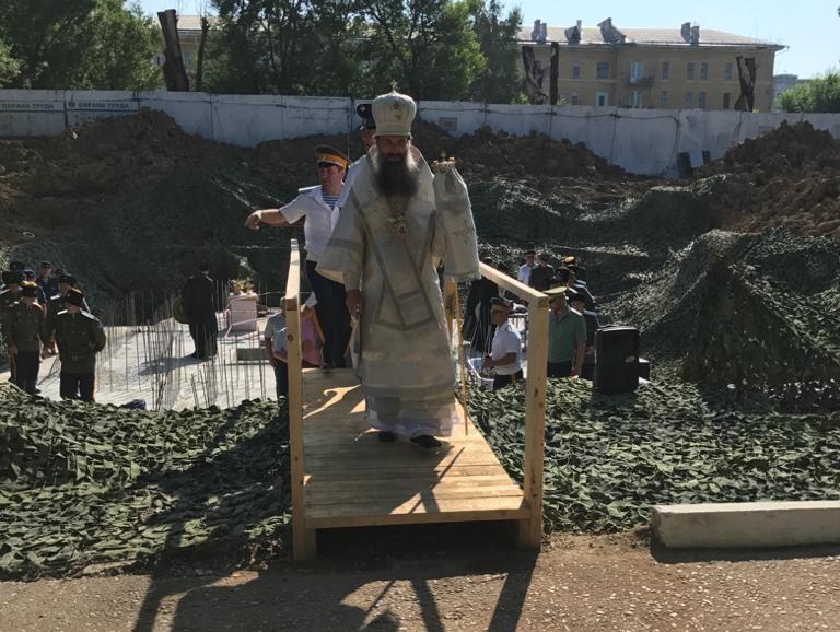 ДОСААФ начало сбор пожертвований на возведение православного храма в Уссурийске