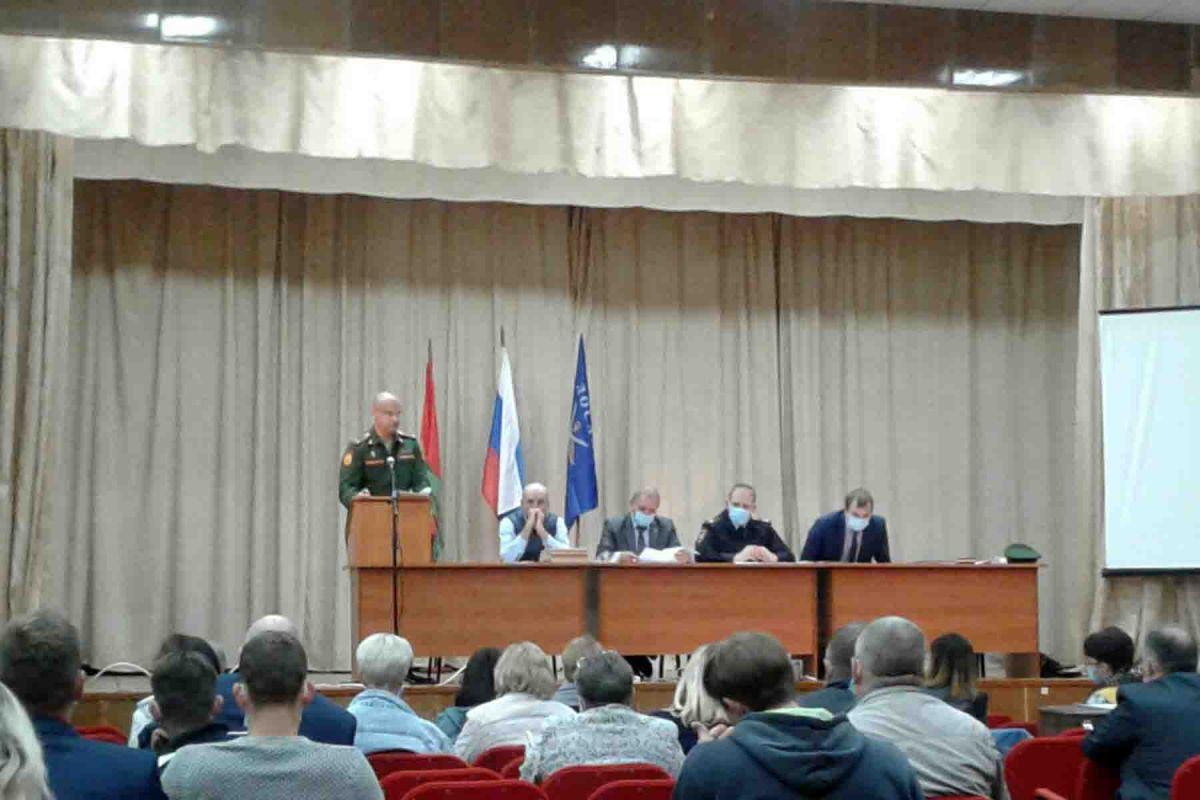 В Липецке подвели итоги подготовки военно-обученных специалистов