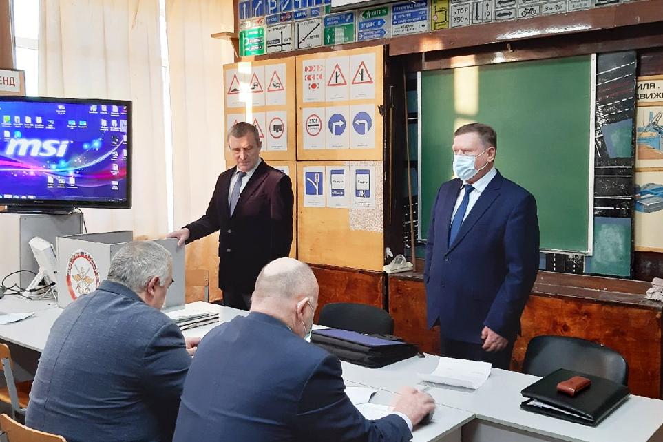 Председатель ДОСААФ России Александр Колмаков посетил Архангельскую область с рабочим визитом