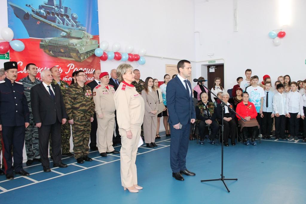 Дом «Юнармии» появился в Новгородской области