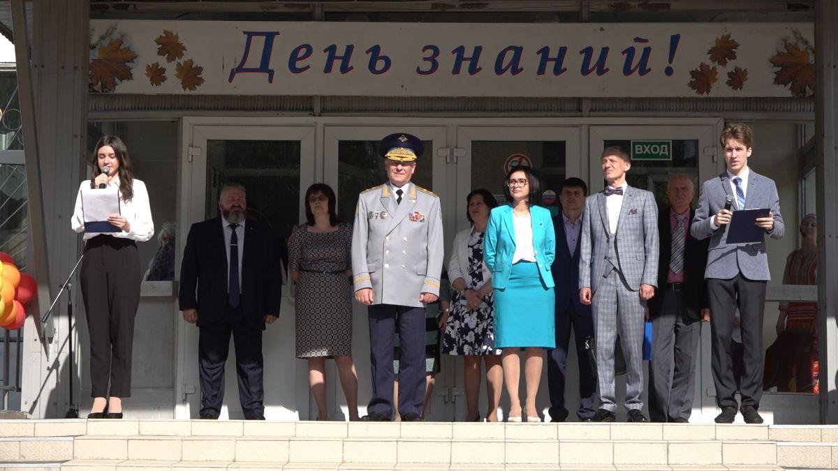 Николай Стаськов принял участие в Дне знаний в подмосковной гимназии