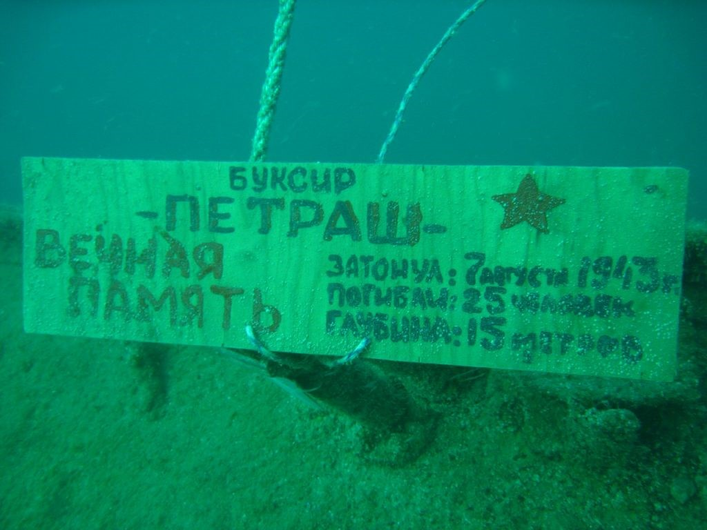 Установлены личности погибших в 1943 году краснофлотцев тральщика «Петраш»
