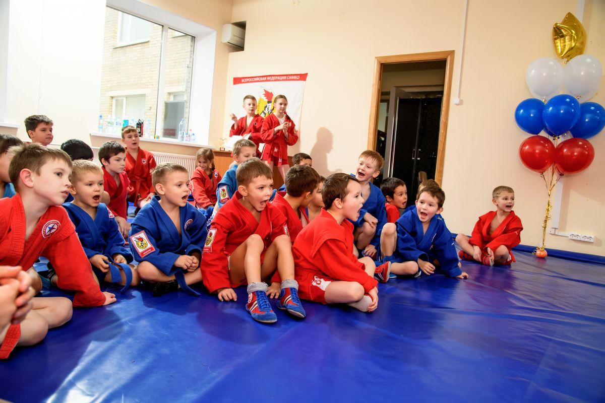 Детско-юношеский турнир в честь 80-летия самбо