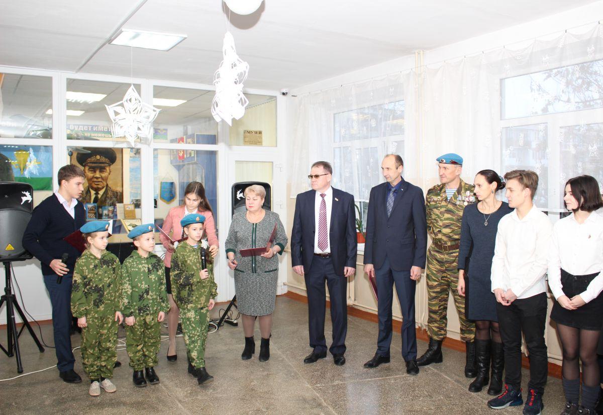 В школе имени генерала Маргелова отметили его юбилей