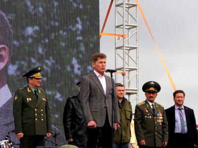 Традиционный военно-патриотический фестиваль  Найди себя  прошел в Приморье