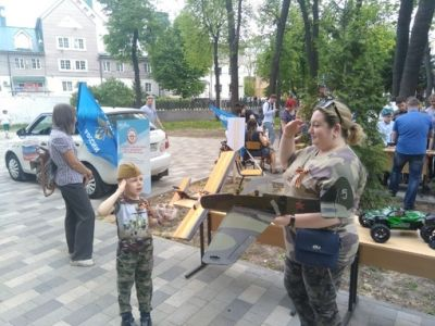 В День Победы рязанцев подробно познакомили с оборонным обществом