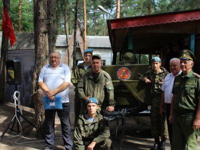 На Белгородчине открыт лагерь героико-патриотической экспедиции памяти Героя Советского Союза Михаила Шумилова