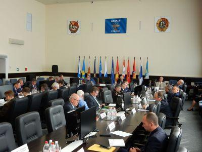Комитет Госдумы на выездом заседании в ДОСААФ России