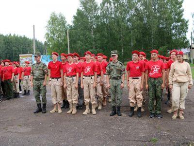 ДОСААФ наградило лучших юнармейцев  лагеря  Юный парашютист
