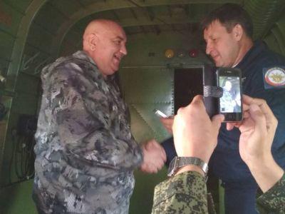 Медали  Петр Нестеров  вручили в небе на борту  Ан-2