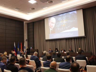 Первое заседание попечительского совета межрегионального отделения ДОСААФ Санкт-Петербурга и Ленинградской области
