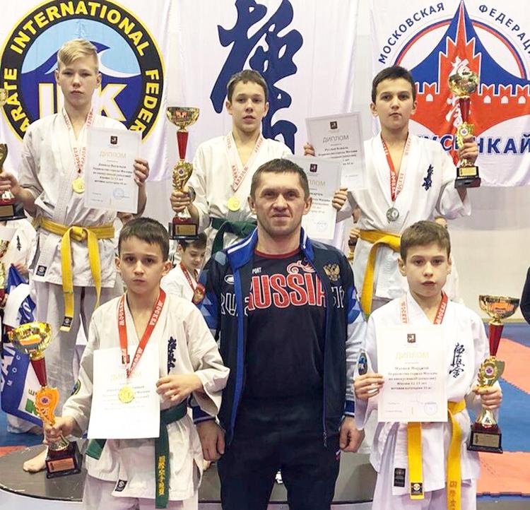 Юные калининградцы выиграли четыре «золота» и «серебро» первенства Москвы