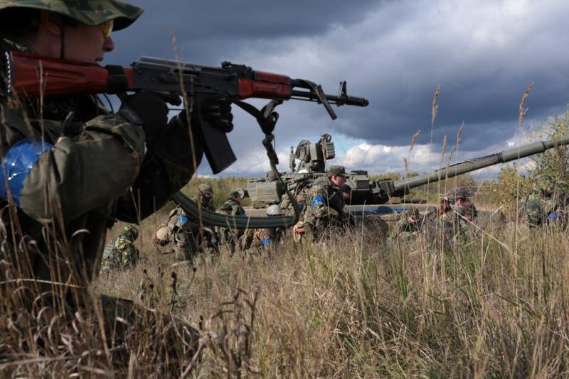 Военно-тактическая игра «Заря»