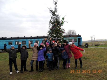 аэродром Гвардейск - новогодняя Ёлка