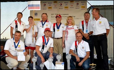 Сборная РФ взяла золото наЧемпионате Европы повысшему пилотажу